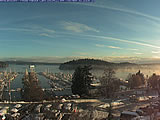 Friday Harbor Webcam. From San Juan Island Washington State.