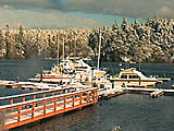 Snug Harbor Webcam. From San Juan Island Washington State.