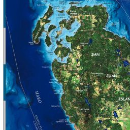 San Juan Island Maps